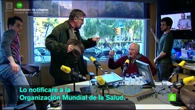 La entrevista a Josep Pàmies, en Catalunya Ràdio