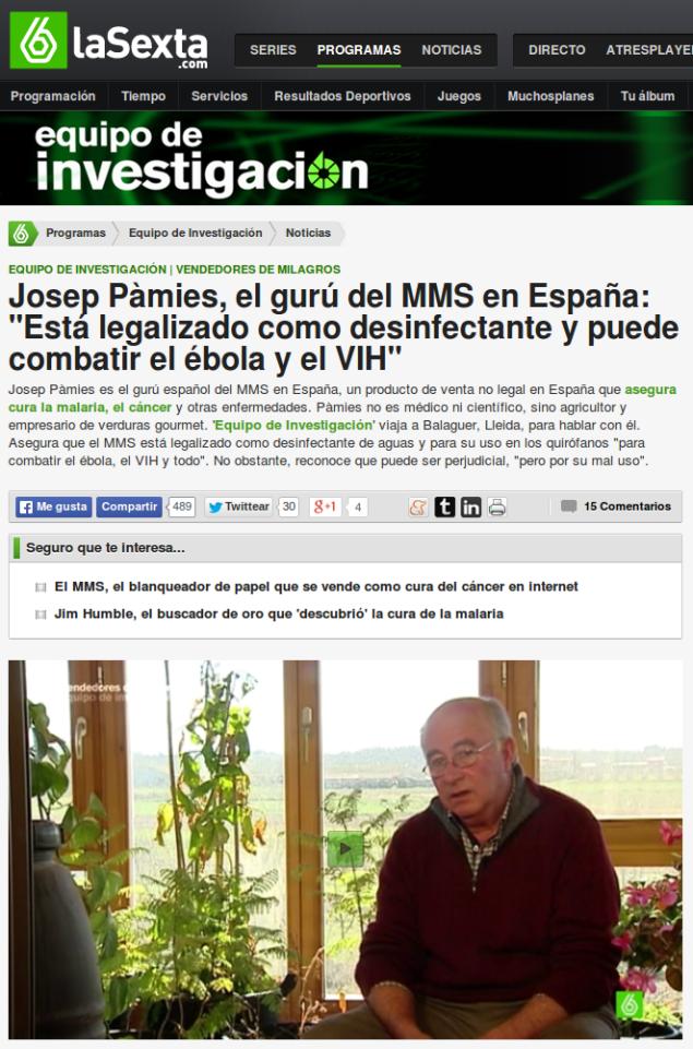 La insatisfacción de la audiencia de La Sexta frente el programa difamatorio de Josep pamies