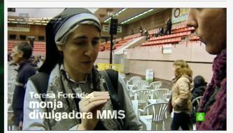 Teresa Forcadas es tildada de monja y divulgadora del MMS, callando que es médica y Doctora en Salud Pública